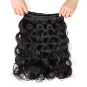 Queen Plus Hair 7A Brazilian Virgin Hair, Free Part Lace Frontal Closure