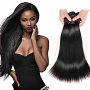 Angel Hair 3 Bundles,Peruvian Virgin Hair,Straight Hair; Sew In Raw Unprocessed Weft Weave Remy Hair