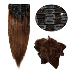 Double Weft 100% Remy Human Hair Clip