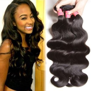 Beauty Forever Hair Brazilian Virgin Body Wave Hair 3 Bundles 18 20 22inch 100% Unprocessed Virgin Human Hair Weft Extensions Natural Color(100+/-5g)/pc