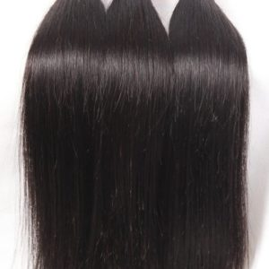 DFX Hair (TM) 8~30 inches Brazilian Virgin Human Hair Extension Silky Straight, Pack of Three