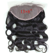Lace frontal closure 13x6 by Dreambeauty Virgin Brazilian - Bleached Knots Virgin Frontal Piece Body Wave Full Lace Frontal Brazilian Wavy 20inch
