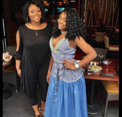 Yandy_Smith_straight_long_black_curls_blue_dress
