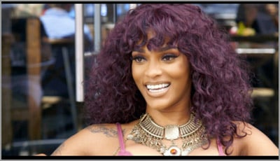 Joseline Hernandez red Hairstyle