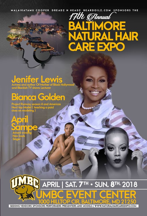 17TH Annual Baltimore Natural Hair Care Expo - April 7-8 2018