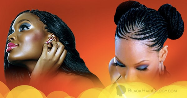 African Glamour Braids and Salon client images