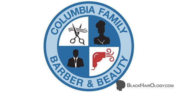 Columbia Family Barber and Beauty Logo
