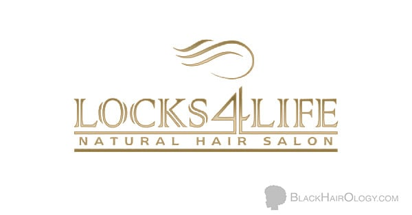 Locks4Life Natural Hair Salon Logo