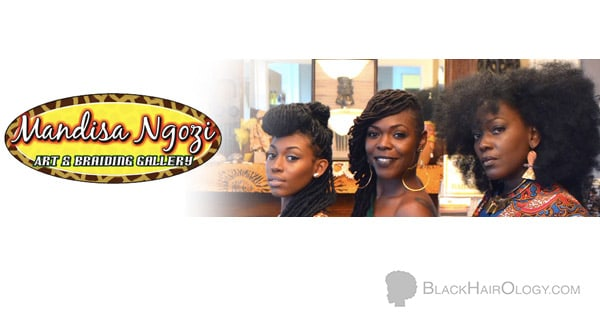 Mandisa Ngozi Art & Braiding Gallery is a Black Hair Salon located in Tallahassee, Florida
