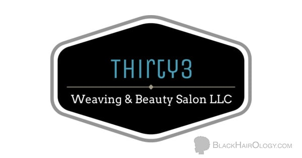 Thirty3 Weaving & Beauty Salon logo