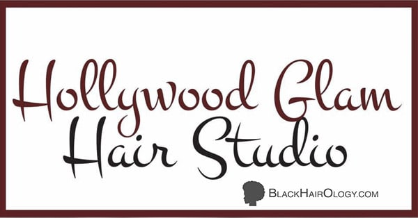 Hollywood Glam Hair Studio Logo