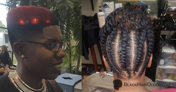 Hair Facts and Design by Renee at Salon Noa - Black Hair Salon located in Virginia Beach, VA