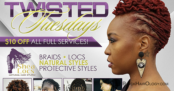 Shea Locs Natural Hair Studio - Black Hair Salon located in McDonough, GA