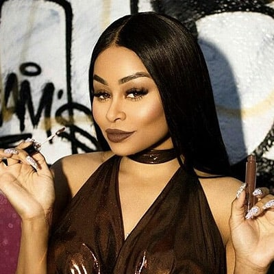 Blac Chyna Black Weave Hairstyle