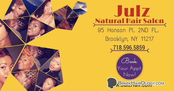 Julz Natural Hair Salon is a Black Hair Salon located in Brooklyn, New York.