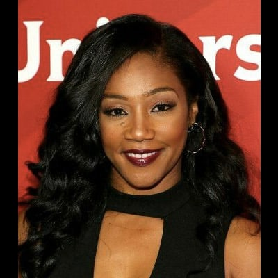 Tiffany Haddish Black Weave Hairstyle