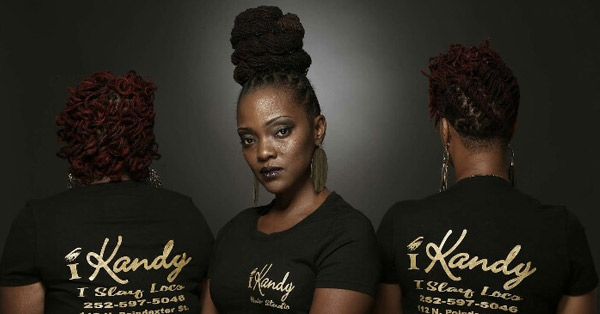 iKandy Braids, Weave, Natural Hair, and Locs is a Black Hair Salon located in Elizabeth City, North Carolina.