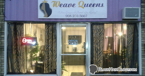 Weave Queens Hair Salon is a Black Hair Salon located in Roselle, New Jersey.