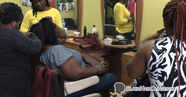 Lisa African Hair braiding is a Black Hair Salon located in Staten Island, New York.