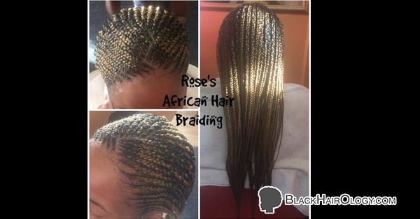 Rose's African Hair Braiding - Black Hair Salon located in Houston, TX