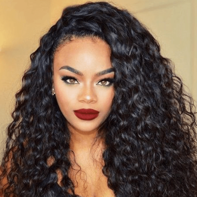Curly Weave Hairstyle
