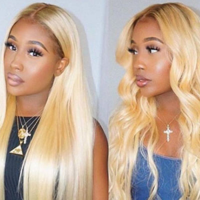 Curly Weave Hairstyle Blonde