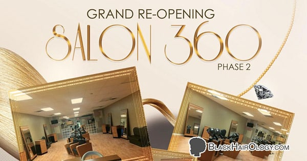 Salon 360 Phase 2 - Black Hair Salon located in Gary, IN