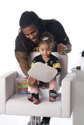 Dads Doing Hair - Deangelo Williams