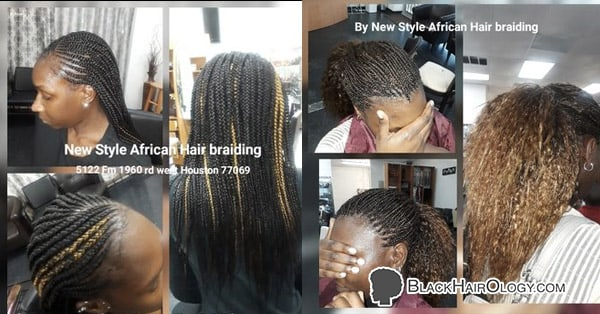 "African Hair braiding services from our hair salon in Houston, TX. We specialize in: Micro Braids, Bobs, Individual Braids (""Box Braids""), feeding braids, Cornrows, Goddess Braids, tree braids, kinky twist, Senegalese Twists, faux locks, deadlocks, men and kids style, Hair Weaving , wigs customization and much more."