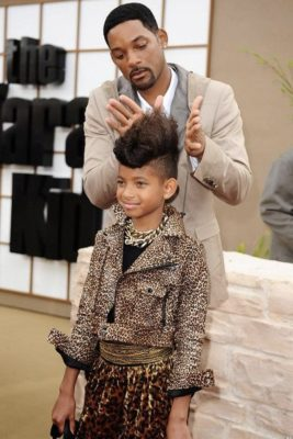 Dads Doing Hair - Will Smith & Willow Smith