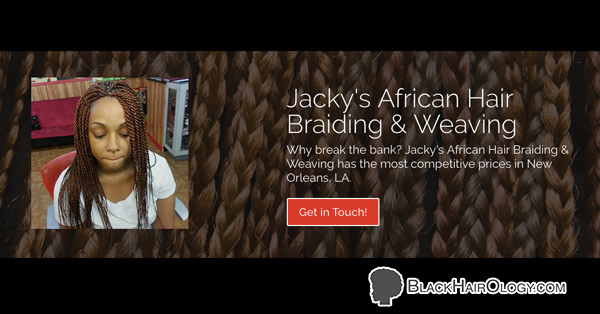 Jackie's African Hair Braiding and Weaving - Black Hair Salon located in Houston, TX